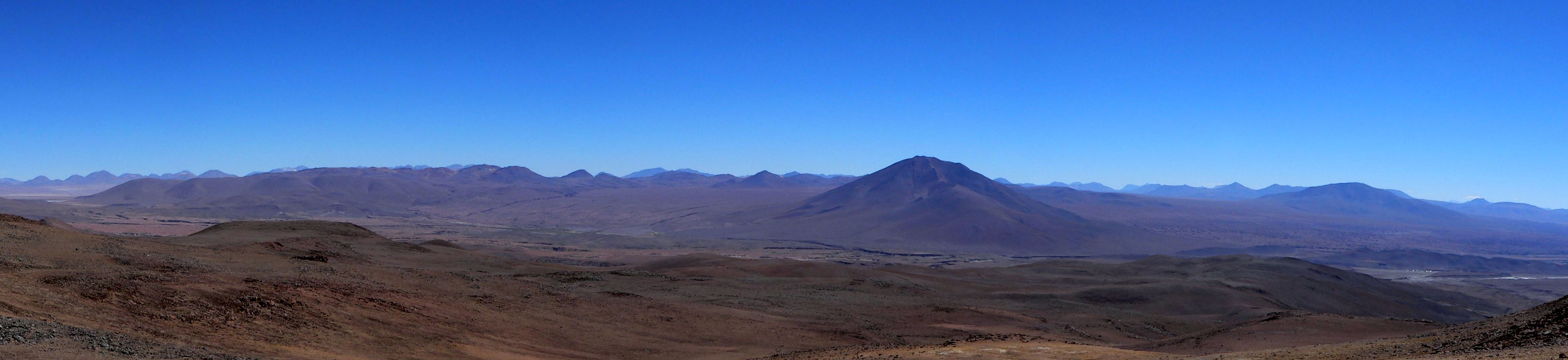 Laguna Colorada Ignimbrite Shield Panorama