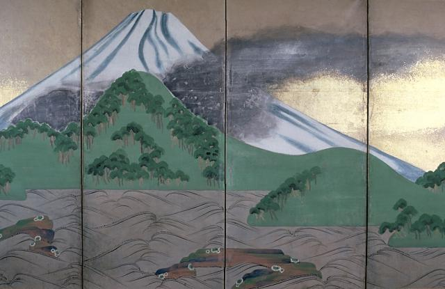 drawing of fuji