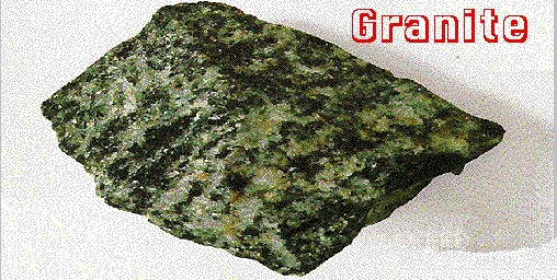 Rock Lesson - Granite