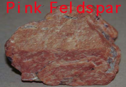 Rock Lesson - Pink Feldspar