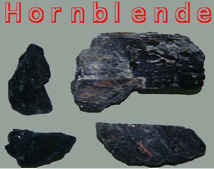 Rock Lesson - Hornblende