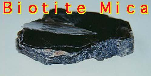 Rock Lesson - Biotite Mica