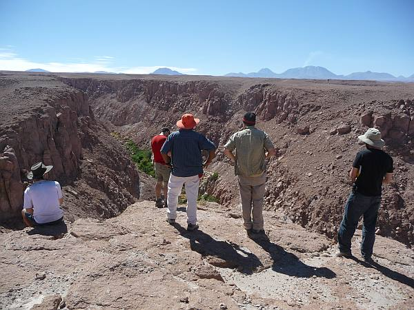The team surveys Silapeti