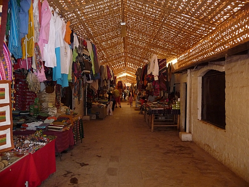 The market at San Pedro de Atacama