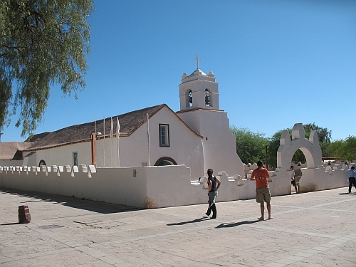 The Church at San Pedro de Atacama
